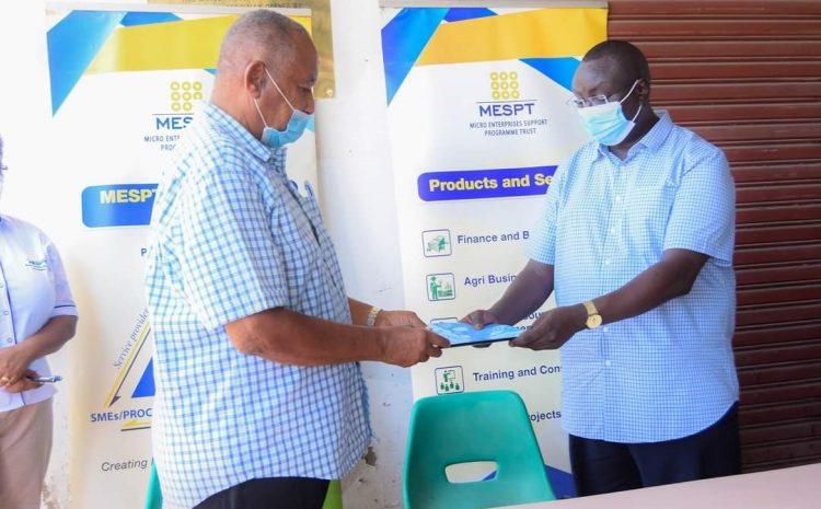 MESPT hands over Malindi Natural Juice Processors (MNJP)