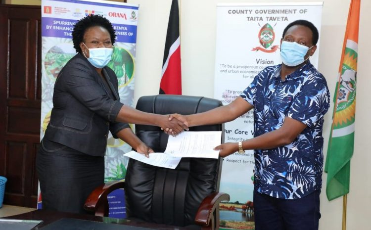 MESPT & Partners Ink Partnership Deal With Taita Taveta County To Invest In The Banana Value Chain